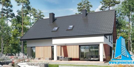 Proiect Casa cu etaj 245,6m2 – 101133