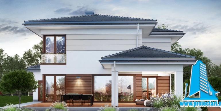 Vizualizare 3d проект двухэтажного дома