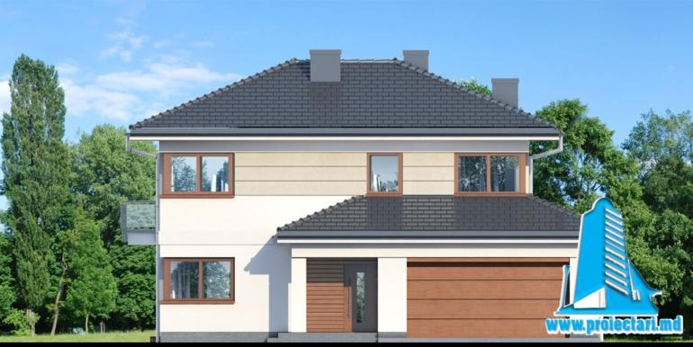 design fatada проект двухэтажного дома