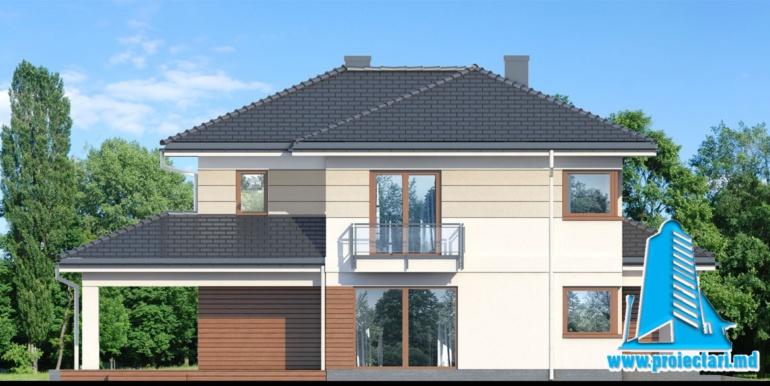 design fatada casa cu doua etaje