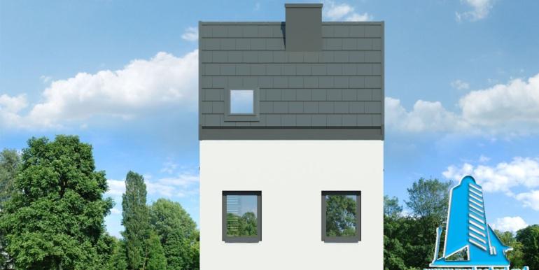 fatada 3 proiect de casa de vacanta